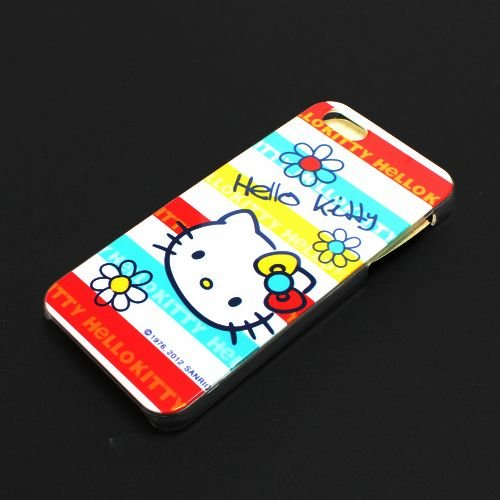 Hello Kitty Hard Case Cover for Iphone 5 5s - Colorful