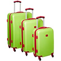Anne Klein Palm Springs 3 Piece Hardside Spinner Luggage Set