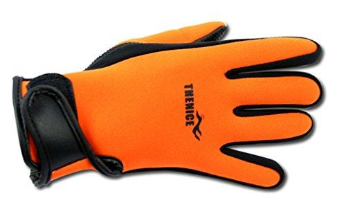 monoii(モノイー) カラフル ダイビンググローブ 厚さ1.5mm オレンジ M サイズ / マリンスポーツ で幅広く活躍 / MNI-006