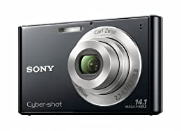 Sony DSC-W330 14 1MP Digital Camera with 4x Wide Angle Zoom with Digital Steady Shot Image Stabilization and 3 0 inch LCD Black