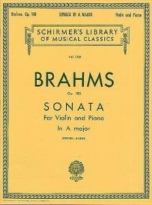 Johannes Brahms Sonata For Violin And Piano In A Major Op100 from Music Sales
