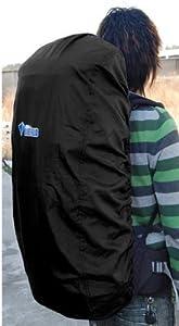 KLOUD City Black Nylon Backpack Rain Cover on sale now