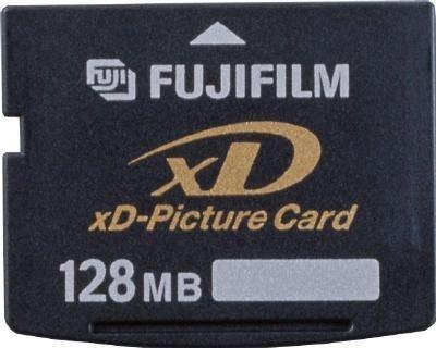FUJIFILM - Flash memory card - 128 MB - xD
