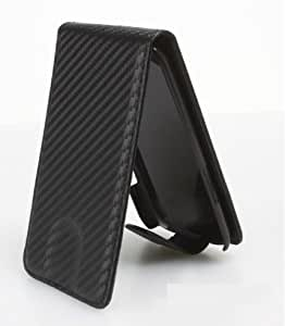 Mobiletto iPhone 5 / iPhone 5S Carbon Tasche / Hülle - Schwarz / Black (iPhone 5/ 5S Hülle - iPhone 5/S Case - iPhone 5/5S Etui)