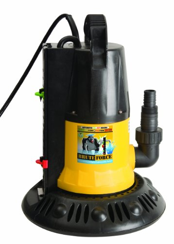 Swim Time 1250 GPH In-Ground Pool Winter Cover Pump w/ Base - Auto On/Off