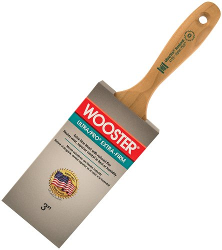 Wooster Brush 4159-3 Ultra/Pro Extra-Firm Semioval Paintbrush, 3-Inch