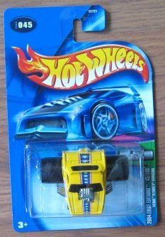 "Hot Wheels 2004 First Editions Fatbax Plymouth Barracuda 45/100 YELLOW 045 Don ""The Snake"" Prudhomme"