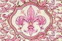 Saponificio Artigianale Fiorentino Pink Fleur de Lis Soap Set From Italy