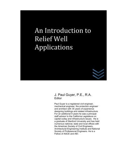 An Introduction to Relief Well Applications