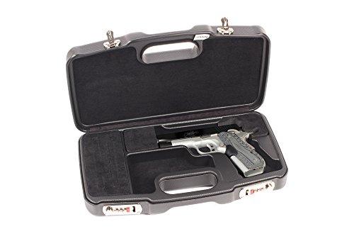 Negrini Cases 2018R/5126 Dedicated 1911 Handgun Case, Black/Black (Negrini Gun Cases compare prices)