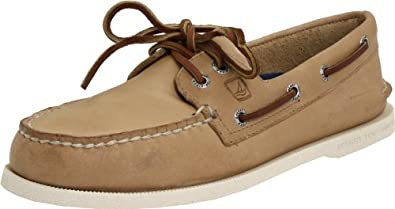SPERRY TOP-SIDER Men's Authentic Original 2 Eye Boat Shoe (Oatmeal 6.0 M)