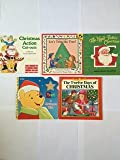 img - for Christmas Books (Set of 5) Christmas Action Cut-Outs -- Let's Trim the Tree (Lift-the-Flap) -- Pooh A Christmas Wish -- The Night Before Christmas -- The Twelve Days of Christmas book / textbook / text book