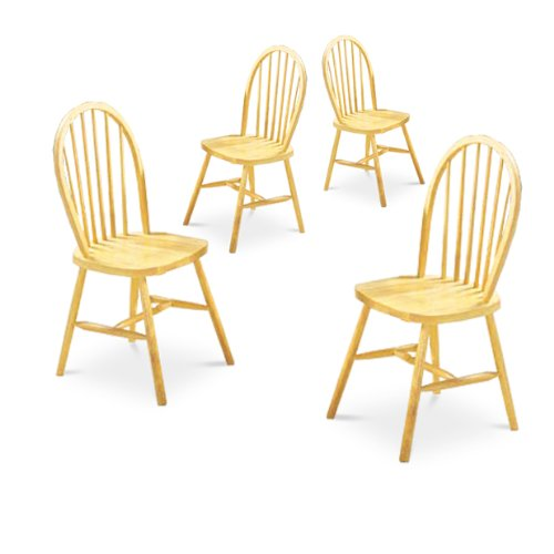 Light Wood Dining Chairs 8604
