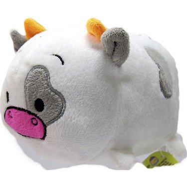 Moo Moo Cow (Bun Bun) 7 Inches - Stuffed Animal by Bun Bun (03104)