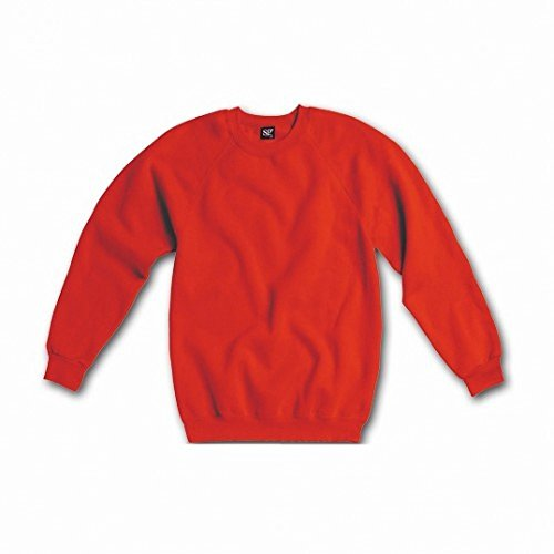 sg-ladies-womens-raglan-sleeve-crew-neck-sweatshirt-m-red