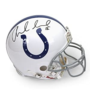 Andrew Luck Autographed Indianapolis Colts Mini Helmet ~Open Edition Item~ Panini... by Panini Authentic
