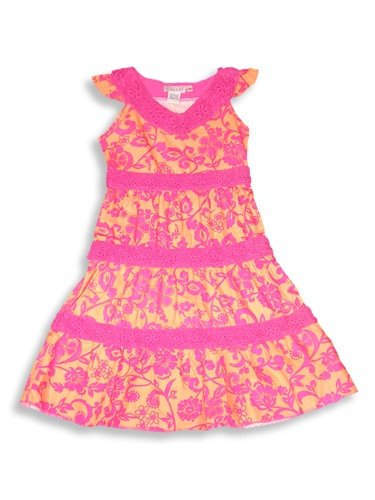 Bianni - Girls Sleeveless Dress, Apricot, Rasberry - Buy Bianni - Girls Sleeveless Dress, Apricot, Rasberry - Purchase Bianni - Girls Sleeveless Dress, Apricot, Rasberry (BIANNI, BIANNI Dresses, BIANNI Girls Dresses, Apparel, Departments, Kids & Baby, Girls, Dresses, Girls Dresses, Casual, Casual Dresses, Girls Casual Dresses)