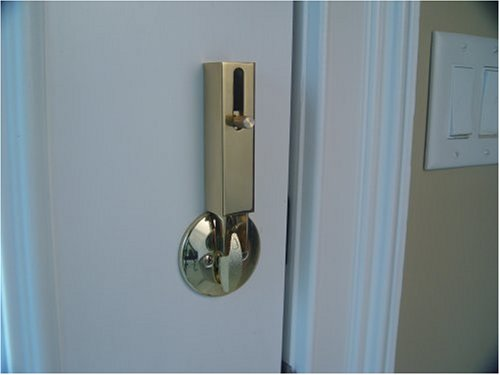 Lock Jaw Security 1001 Door Security Device Polished Brass New Ebay