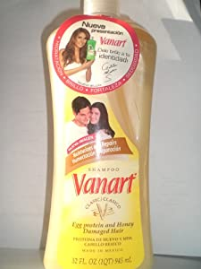 Vanart Shampoo Egg Protein And Honey
