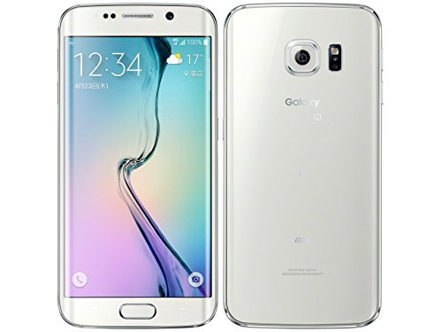 SAMSUNG au Galaxy S6 edge SCV31 64GB White Pearl