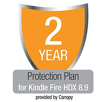 "2-Year Protection Plan with Accident & Theft Cover for All-New Kindle Fire HDX 8.9"", UK customers only"