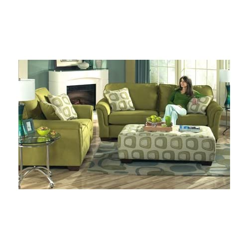 durapella celadon living room set by ashley