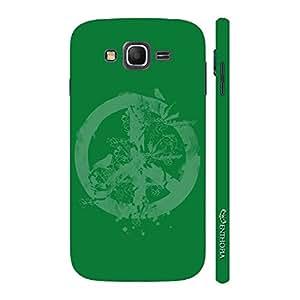 Enthopia Designer Hardshell Case Peace - Green Back Cover for Samsung Galaxy J3 (2016)