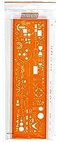 Minerva TRACE13A Trace symbole électrique/électronique Orange