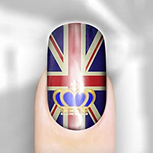 Jubilee 2 Nail Wraps - For Toes