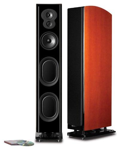"Polk Audio Lsim705 Superior Performance 47"" Floorstanding Tower Speaker - Each (Mount Vernon Cherry)"