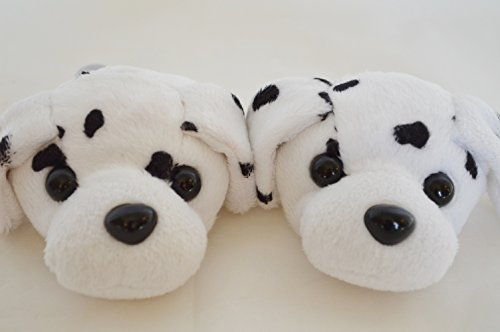 DALMATIAN SLIPPERS FOR AMERICAN GIRL DOLLS AND BITTY TWINS - 1