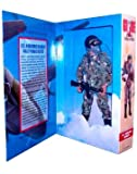 GI Joe Year 1996 Limited Edition Classic Collection 12 Inch Tall Soldier Action Figure - U.S. Airborne Ranger HALO Parachutist with Camouflage Fatigues, Assault Helmet, Goggles, Oxygen Mask, Oxygen Hose, Oxygen Bottle with Pouch, Boots, Survival Knife, Parachute Backpack, and Colt AR-15 Assault Rifle