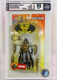Picture of AFA Superman/Batman 2: Batman Action Figure AFA 95 (B000RYD8R6) (Batman Action Figures)