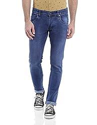 Raw Denim Dark Blue Slim fit Jeans