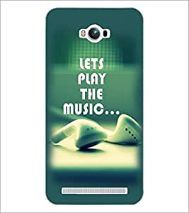 PrintDhaba Quote D-2368 Back Case Cover for ASUS ZENFONE MAX ZC550KL (2016) (Multi-Coloured)