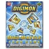 Digimon Digital Monsters Digi-Battle Card Game Starter Set 1st Edition 2 Player Pack.