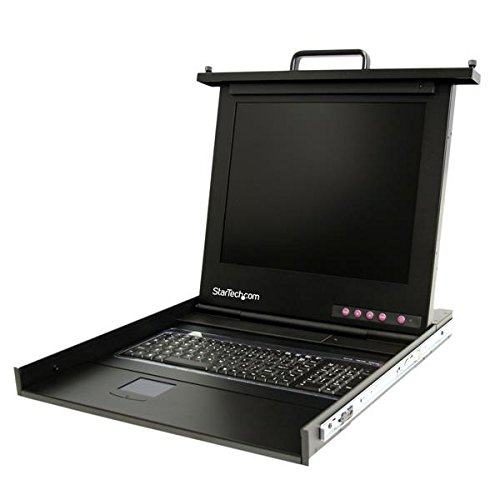 "Startech.Com 1U 17"" Rackmount Lcd Console - Usb - Value Series - Kvm Console 1U Rack Mount With 17In Lcd"