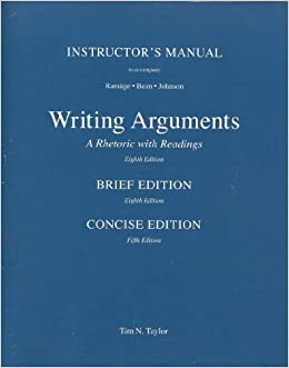 writing with a thesis a rhetoric and reader 8th edition Now in its eighth edition, a manual for writers of research papers, theses, and dissertations has been fully revised to meet the needs of today's writers an overview of the steps in the research and writing process, including formulating questions, reading critically, building arguments, and revising drafts.