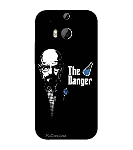MiiCreations 3D Printed Back Cover for HTC One M8,Breaking Bad