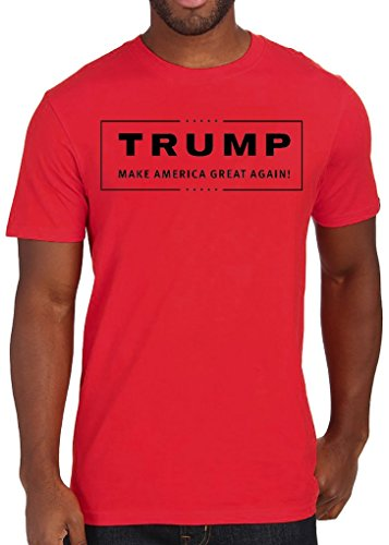 Donald Trump Make America Great Again Funny maglietta da uomo Large
