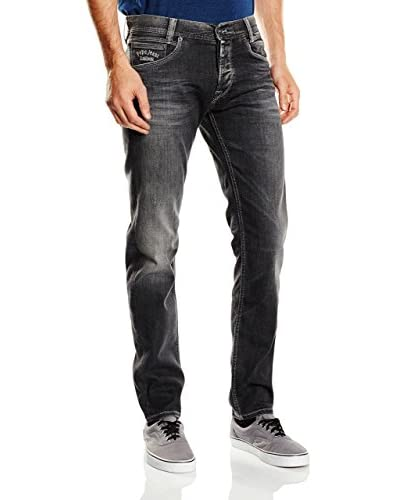 Pepe Jeans London Vaquero Spike Gris Oscuro