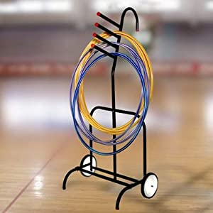 Portable Hoop Rack by Goal Sporting Goods
