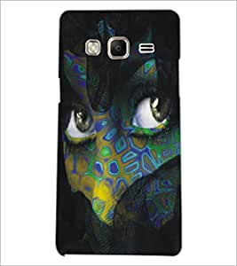 PrintDhaba Daring Eyes D-5446 Back Case Cover for SAMSUNG Z3 (Multi-Coloured)
