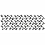 Kaisercraft Texture Clear Stamp - Checker Plate CS833