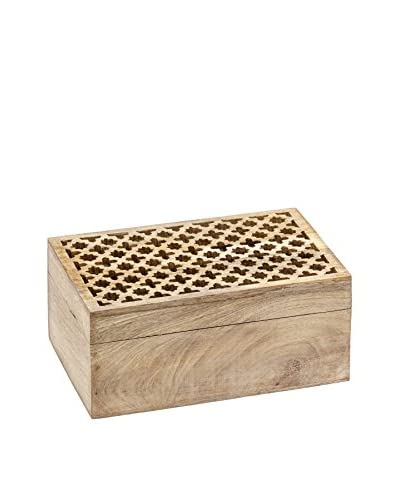 Mela Artisans Trellis Decorative Box