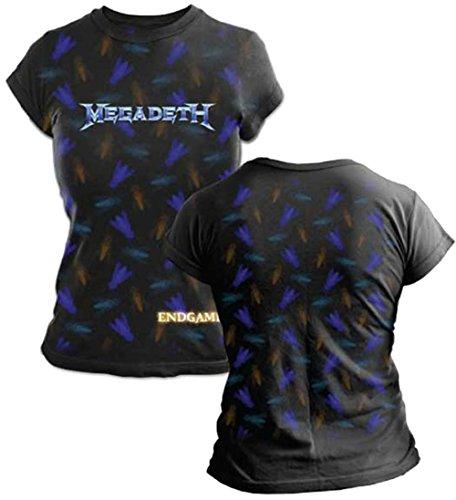 Megadeth T-shirt G3 Fly Juniors Tissue Tee-medium