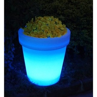 Bellini 24 Inches LED Color Changing Patterns Water And Weather Proff Flower Pot (16 Qt Cast Iron Pot compare prices)