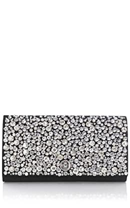 Encrusted jewel clutch