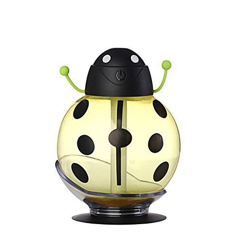 Laimeng,Beatles Home Aroma LED Humidifier Air Diffuser Purifier Atomizer (Yellow)