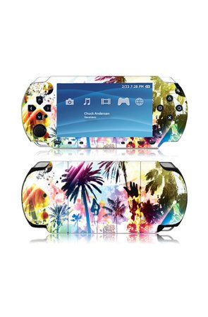 MusicSkins Chuck Anderson - Vacations - Gaming Skins,Accessories for Unisex, Sony PSP Slim,Black